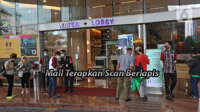 Mall Terapkan Scan Berlapis