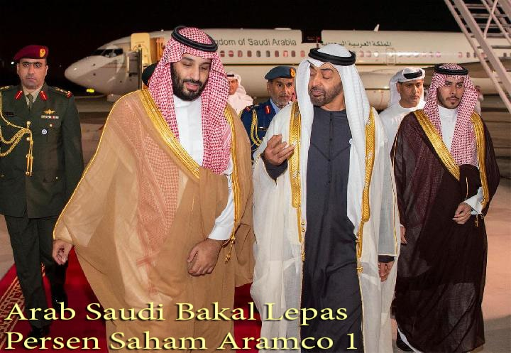 Arab Saudi Bakal Lepas 1 Persen Saham Aramco