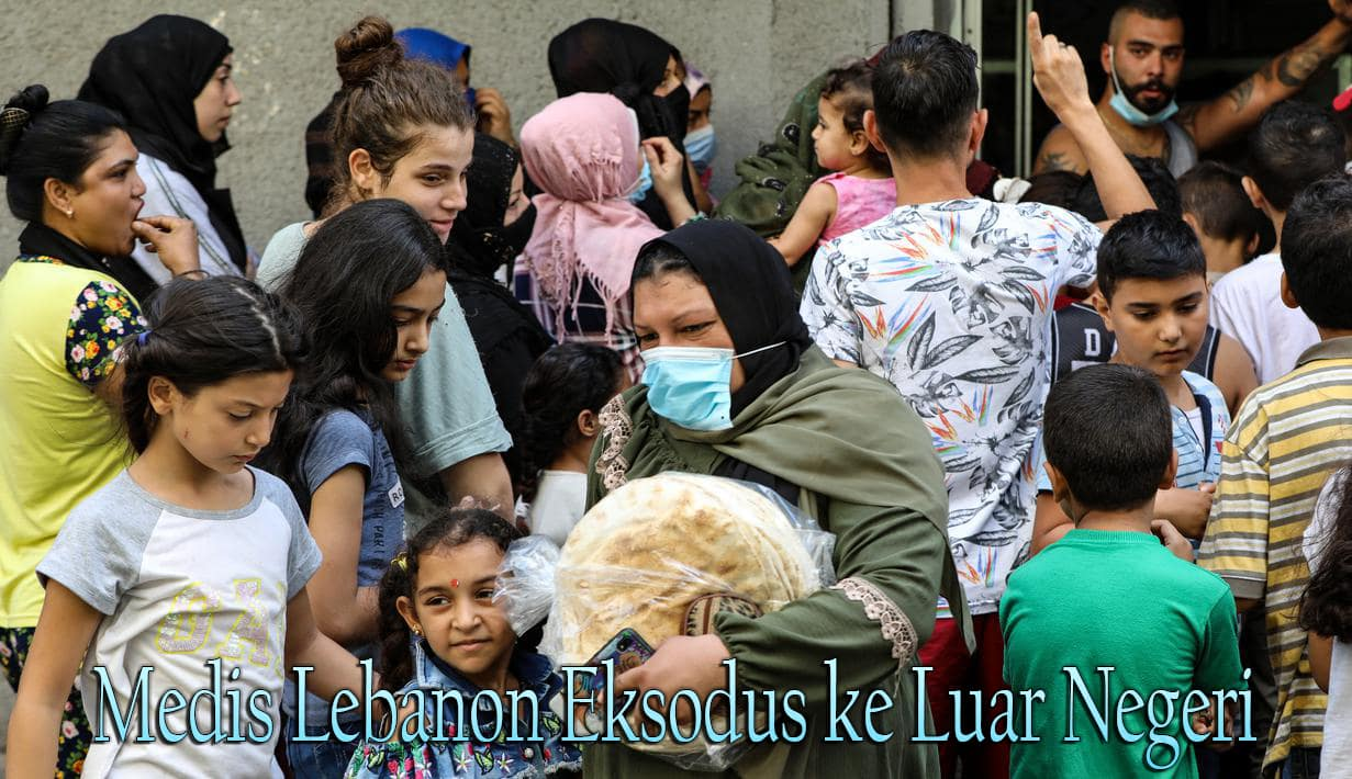 Medis Lebanon Eksodus ke Luar Negeri